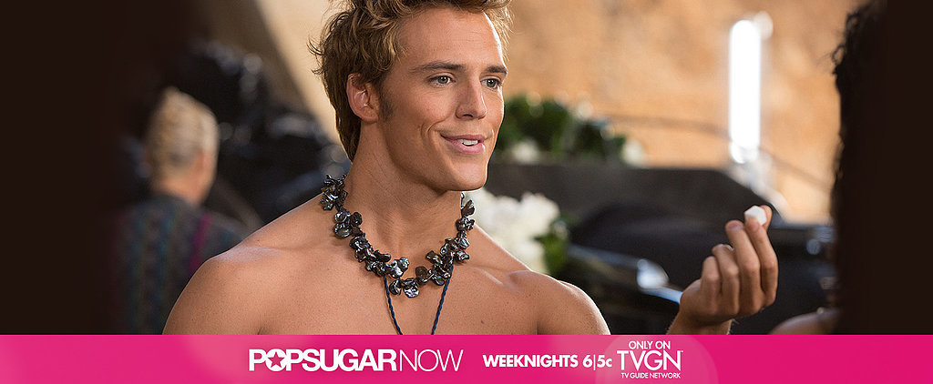 Tonight on TVGN: Sam Claflin Spills on Mockingjay