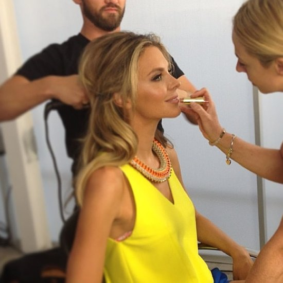 Celebrity Beauty Preparation Before Logies Jennifer Hawkins