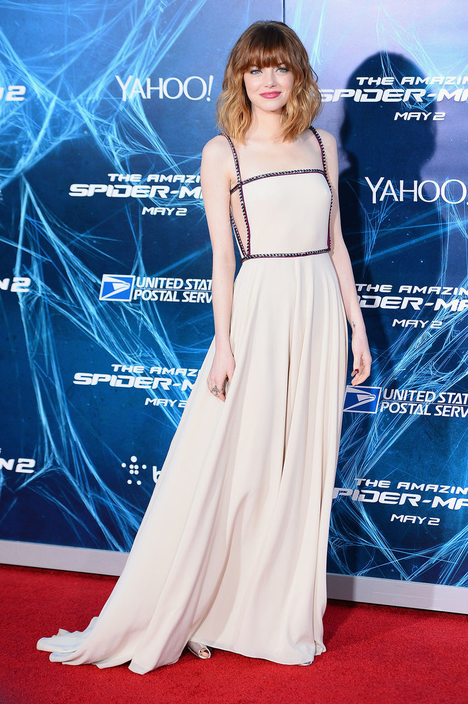 Emma Stone at the New York Premiere of The Amazing Spider-Man 2