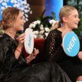 Mary-Kate and Ashley Olsen on The Ellen Show | April 2014