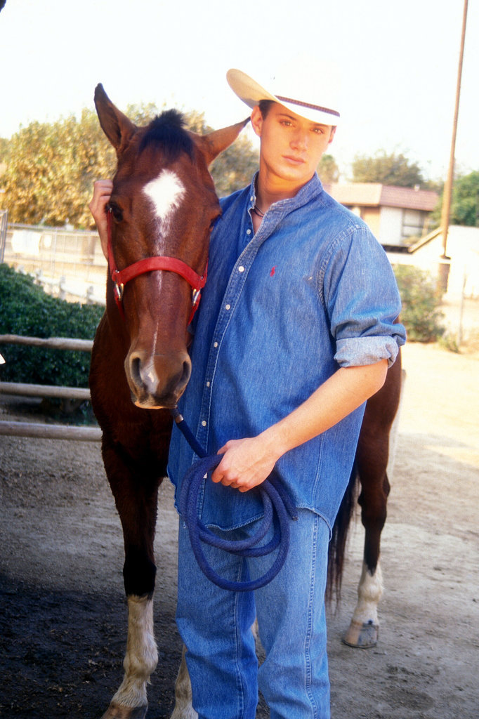 Every Glorious Photo From Jensen Ackles's 1999 Cowboy Shoot