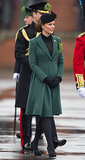 Kate Middleton at the Irish Guards on St. Patrick's Day in 2013