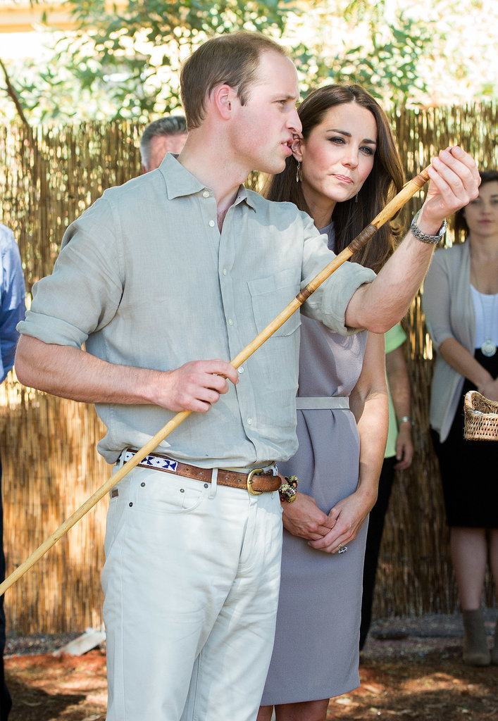 """Someone Hands William a Spear, and Suddenly He's an Expert."""