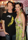 Katy Perry visited Neil Patrick Harris backstage at Hedwig and the Angry Inch on Broadway on Saturday.