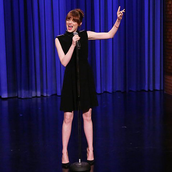 Emma Stone Lip Syncing Battle on The Tonight Show