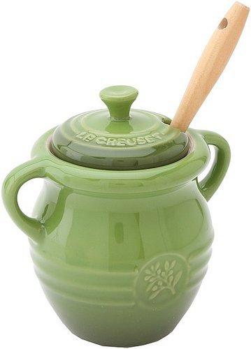 Le Creuset Olive Jar Individual Pieces Cookware
