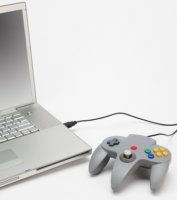 This N64 USB controller ($25) that lets you play Zelda and Super Mario the only legitimate way possible.