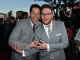 Ike Barinholtz and Seth Rogen got silly.