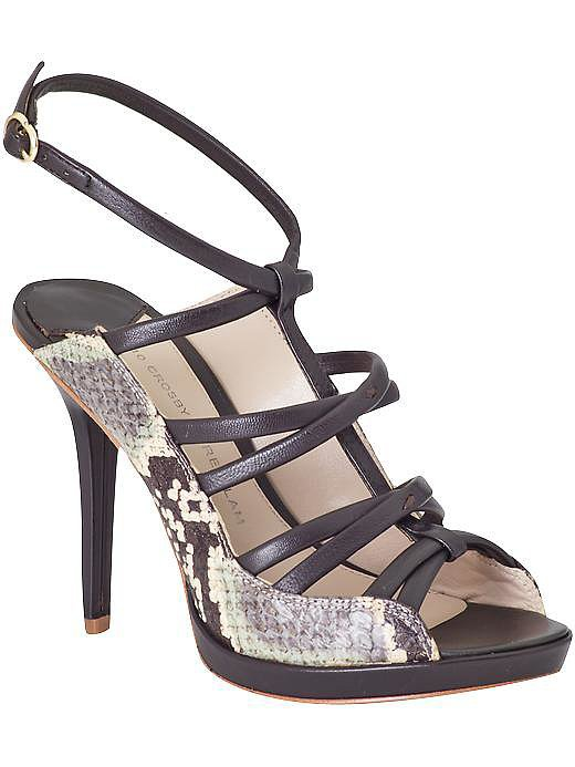 10 Crosby Derek Lam Jims snakeskin sandals ($245, originally $350)