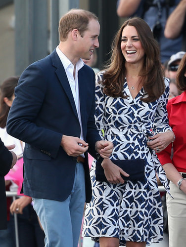 Kate listened to Will during their April 2014 visit to Echo Point in Katoomba, Australia.