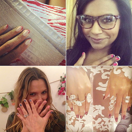 21 Stars Who Are, Um, Nailing Their Instagram Manicures
