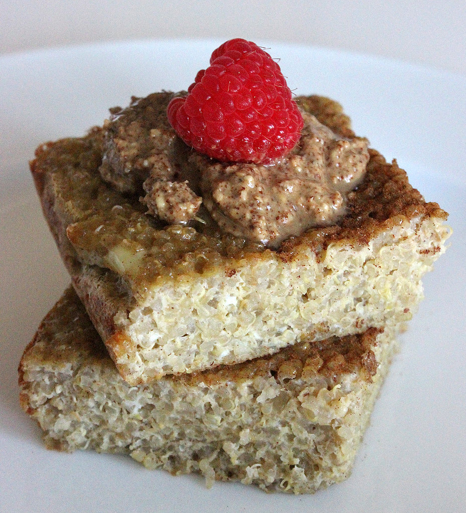 in your life? Try this recipe for gluten-free cinnamon quinoa bake ...