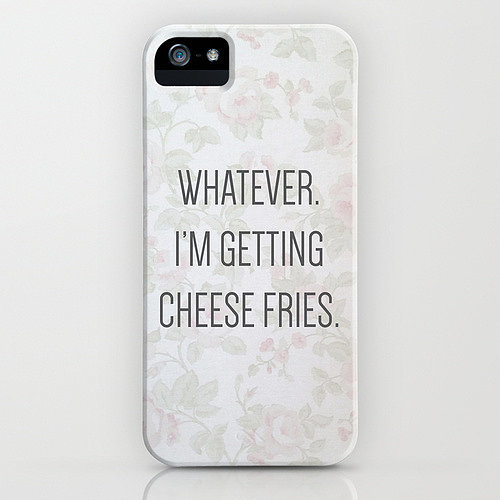 Whatever iPhone/Galaxy S4 case ($35)