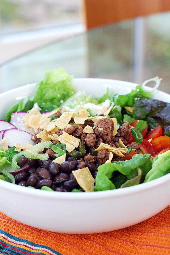 Meat Taco Salad