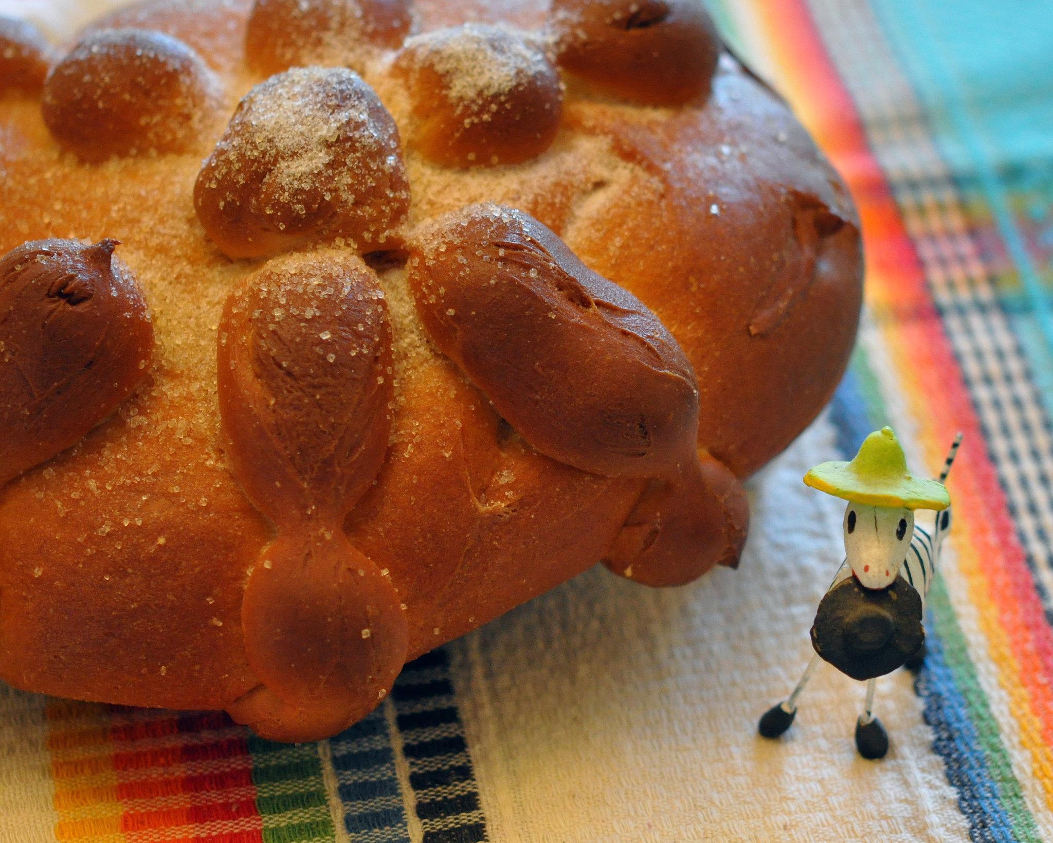 Mexican Day of the Dead Bread Recipe   POPSUGAR Food