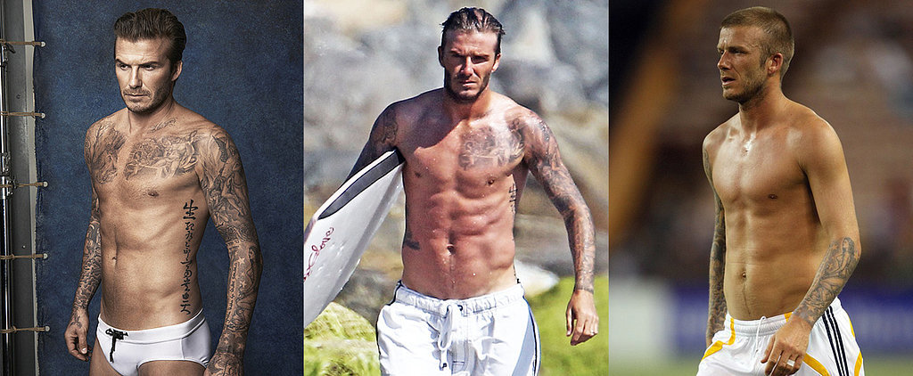 It's Never a Bad Time to Celebrate David Beckham's Perfect Body