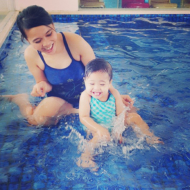 """Have fun and play with your kids. It's so important to laugh."" — Jill M.  Source: Instagram user ungu_violet"