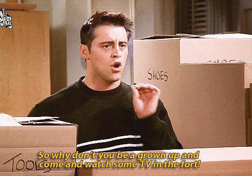 When Joey Captures What Adulthood Is All About