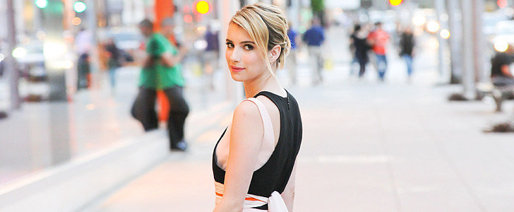 Emma Roberts Makes Spring Dressing Look Easy