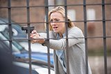 Strahovski plays an agent during her last week at the CIA.