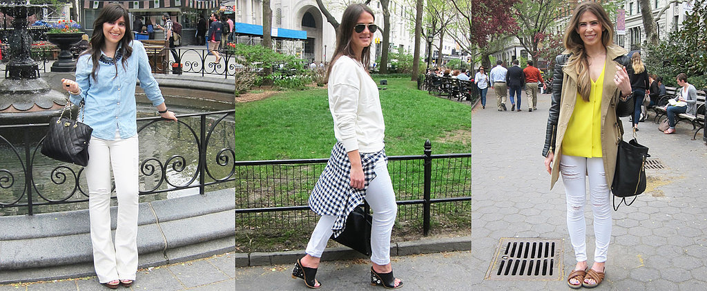 Real Girls Take On the White-Denim Trend — and Win!
