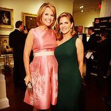 Savannah Guthrie showed off her baby bump in a cute photo with Today colleague Natalie Morales.  Source: Instagram user savannahguthrie