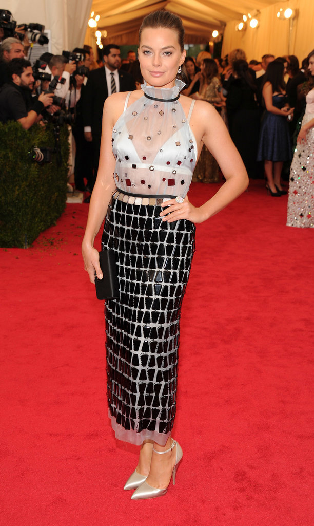 Margot Robbie at the 2014 Met Gala
