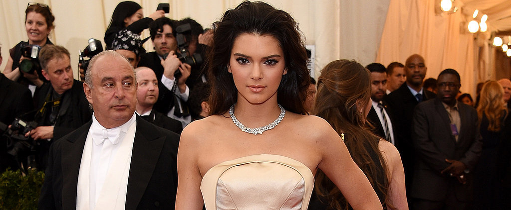 Kendall Jenner Literally Couldn't Sit Before Her Met Gala Debut
