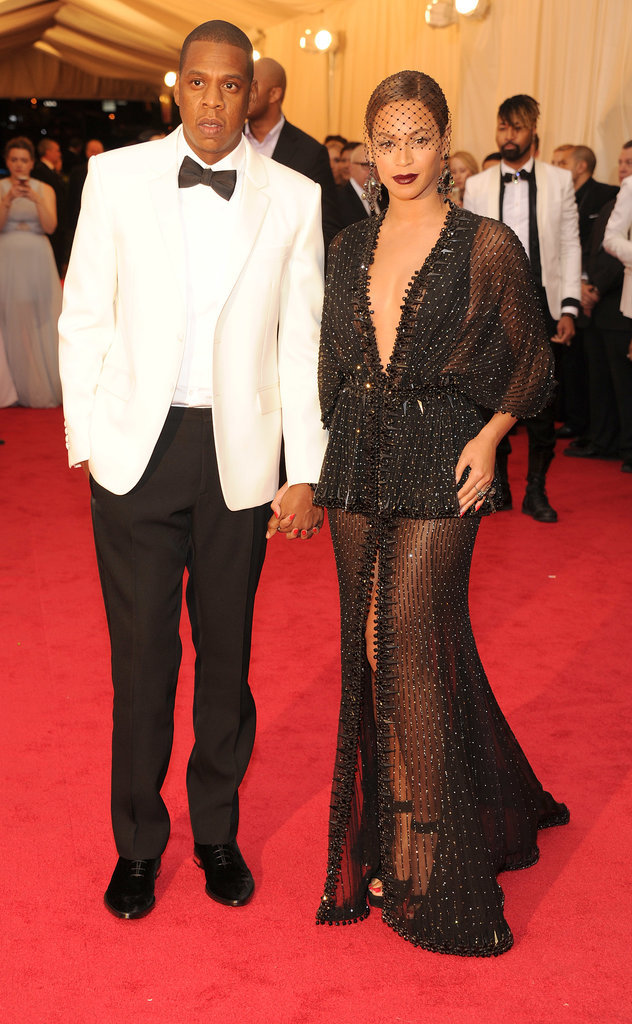 Jay Z and Beyoncé at the 2014 Met Gala