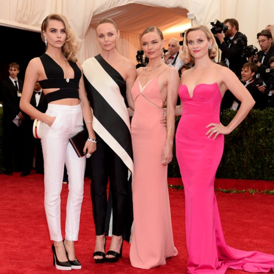 Celebrities at the Met Gala 2014