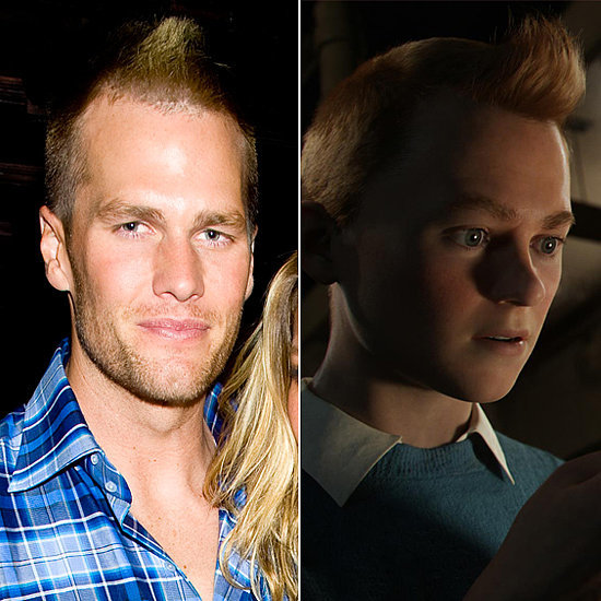Does Tom Brady Look Like Tintin?