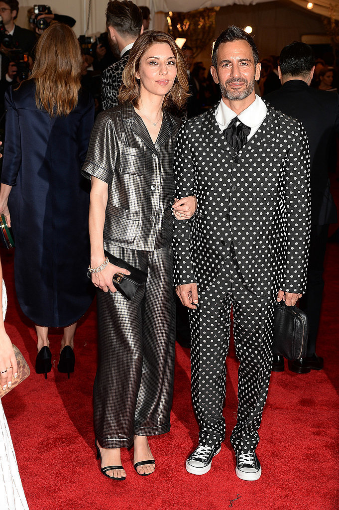 Sofia Coppola and Marc Jacobs at the 2013 Met Gala