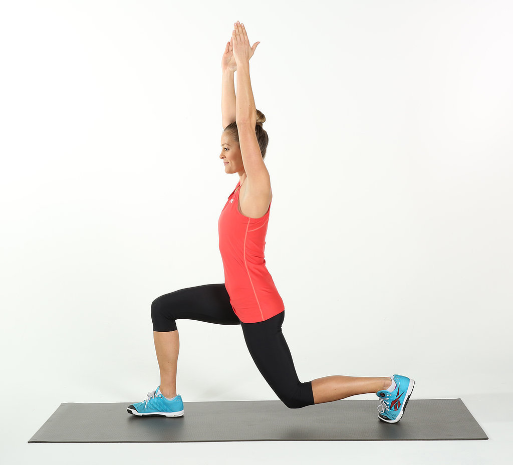 Watch How to Do a Standing Front Thigh Stretch video