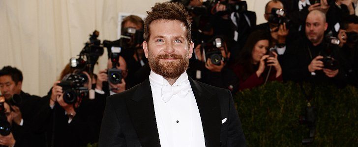 Bradley Cooper Shows Off His New Look at the Met Gala