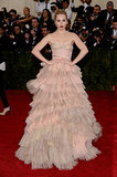 Suki Waterhouse at the 2014 Met Gala