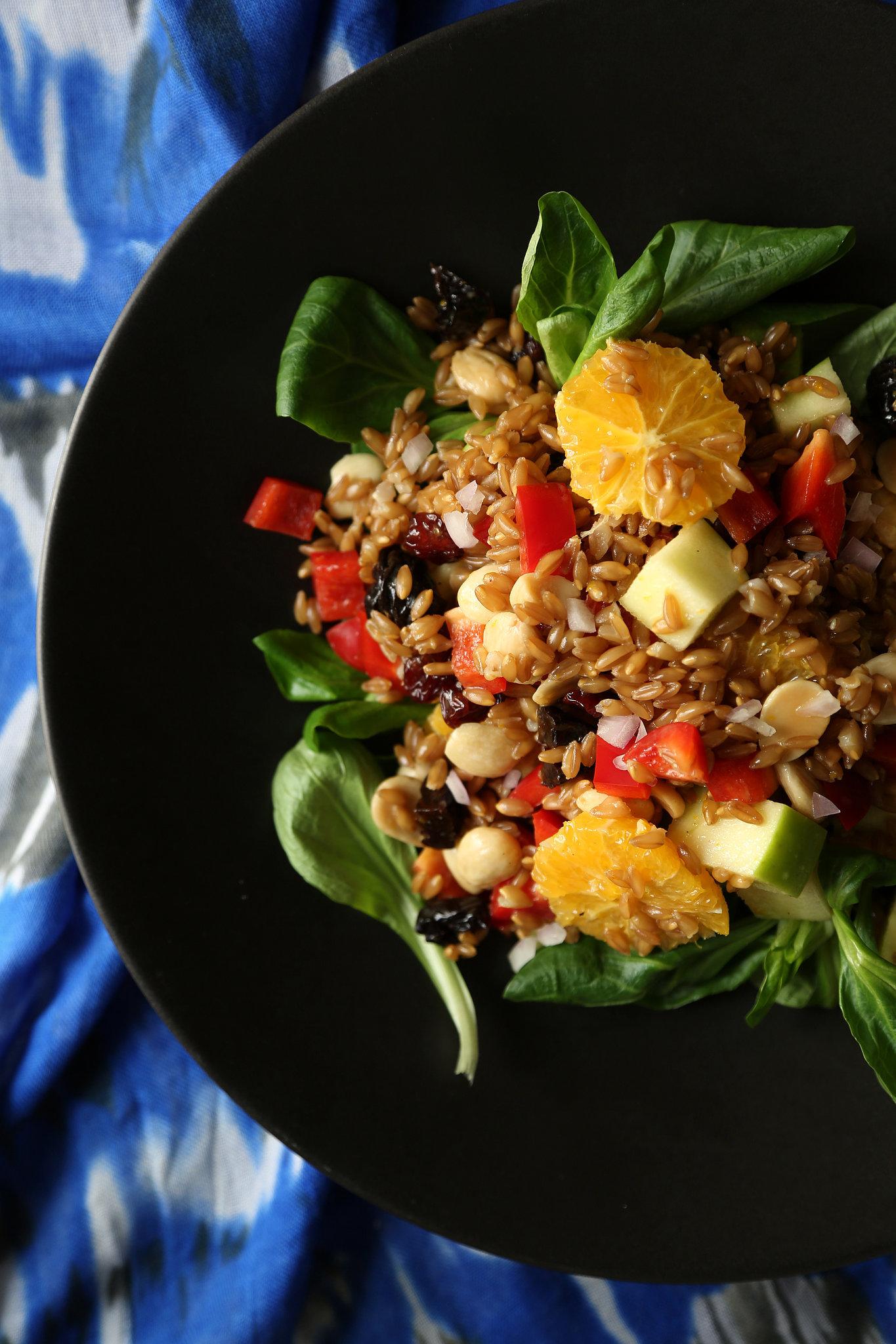 Vegan Farro Salad Recipe