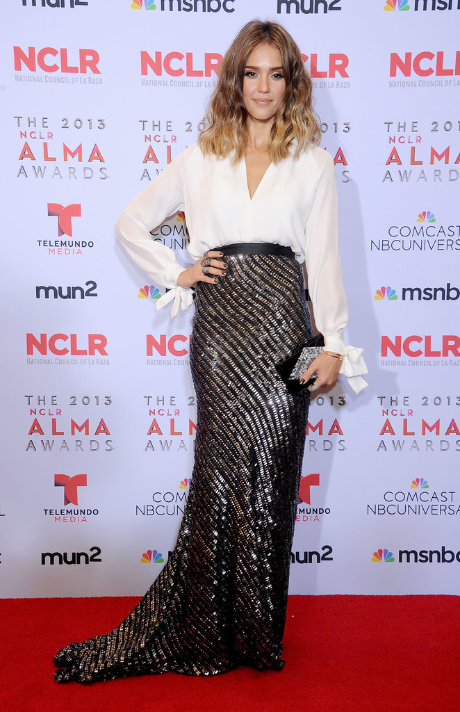 Jessica Alba at the Alma Awards, 2013