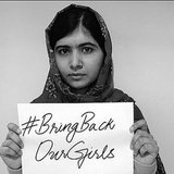 Girls' education advocate Malala Yousafzai spread the message as well.  Source: Instagram user malalafund