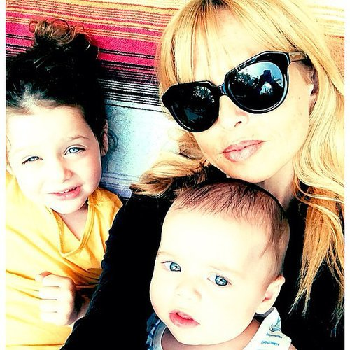 Rachel Zoe was flanked by her sweet boys to finish off her weekend. Source: Instagram user rachelzoe
