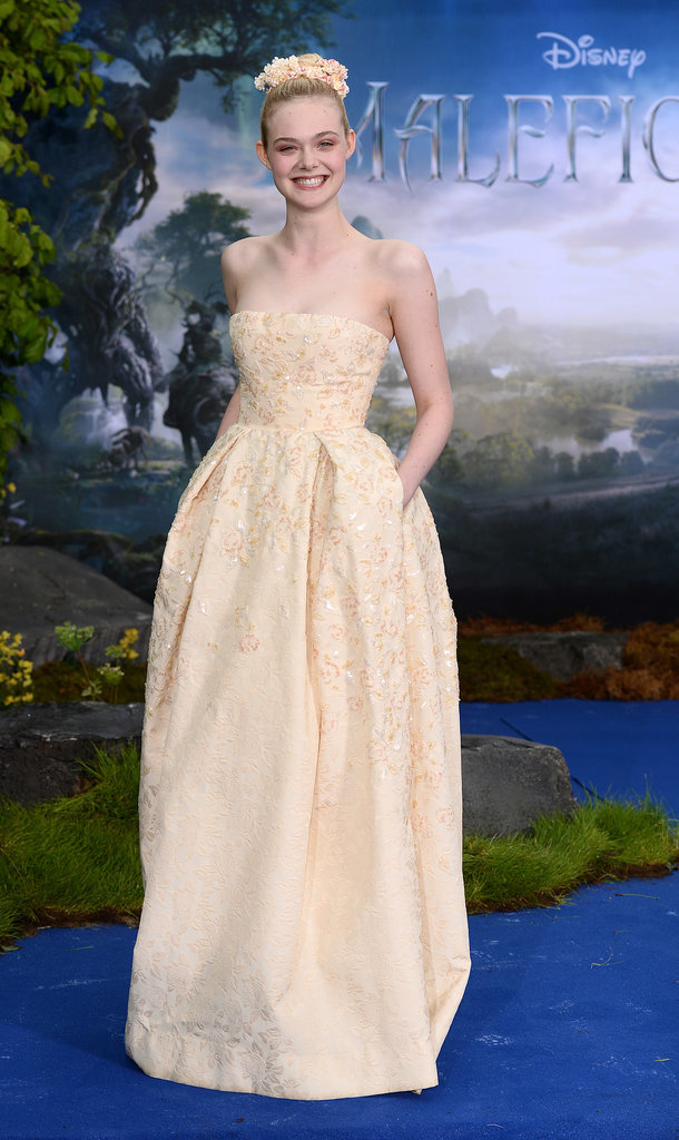 Elle Fanning looked gorgeous at the event.