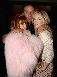 Kate posed with Richard Stark and Chrome Hearts owner and designer Linda Ramone.
