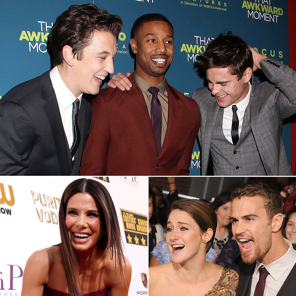Celebrity Shenanigans Make Red Carpets Way More Fun