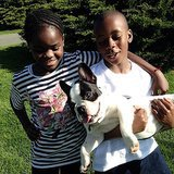 Madonna spent the day with her two youngest children, David Banda Mwale Ritchie and Mercy James —as well as their dog Olga! Source: Instagram user madonna