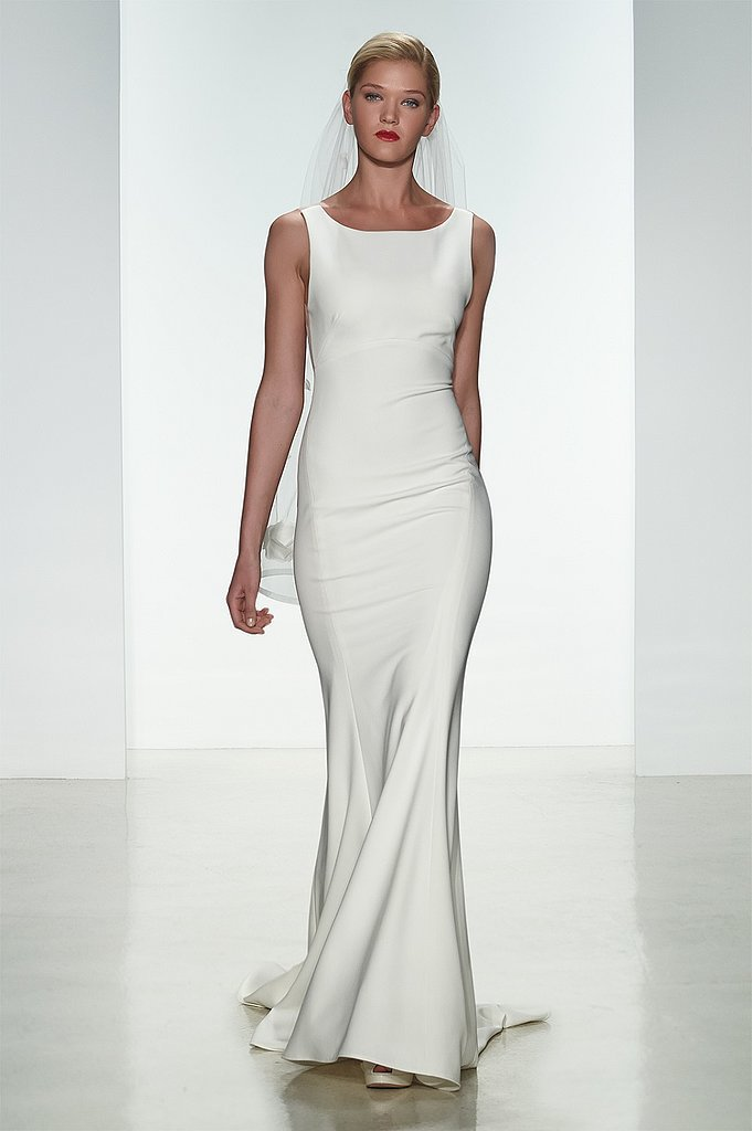 A Sleek Gown