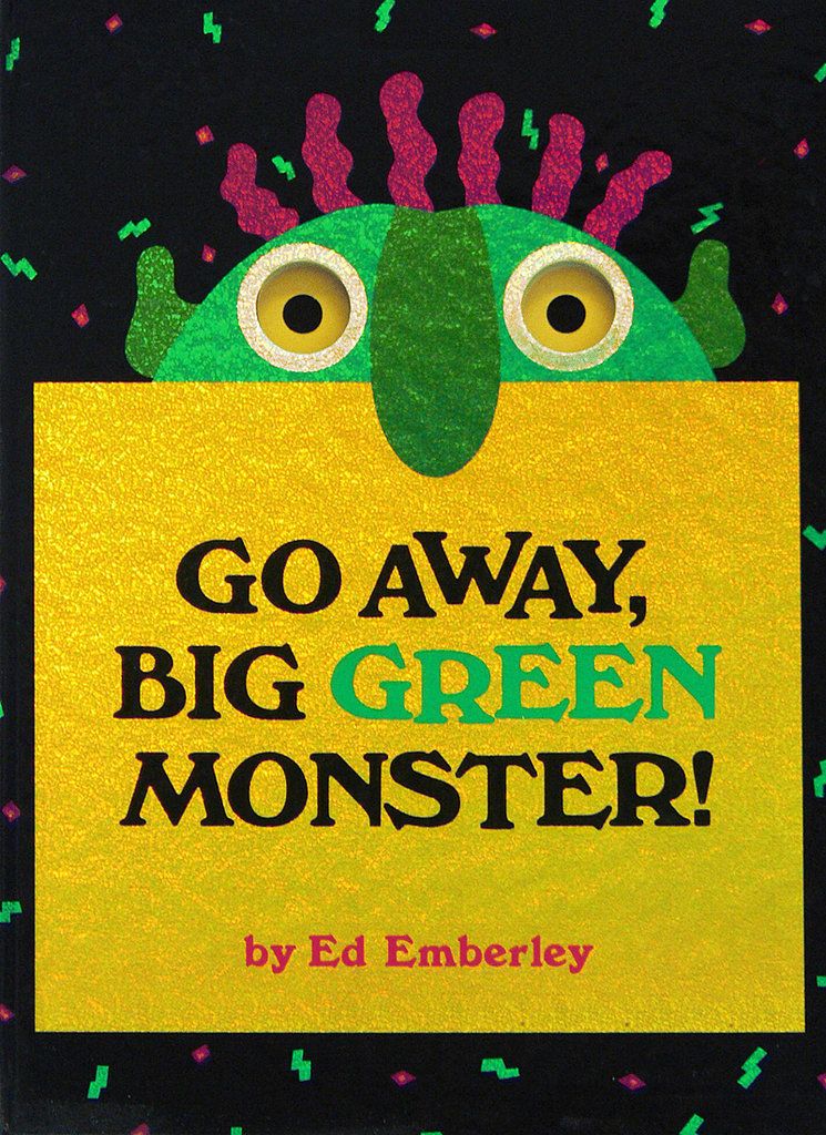 Go Away Big Green Monster Popsugar Moms Go Away Big Green Coloring Page