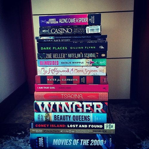 "Tiffanysilver23 shared her ""April book haul."""