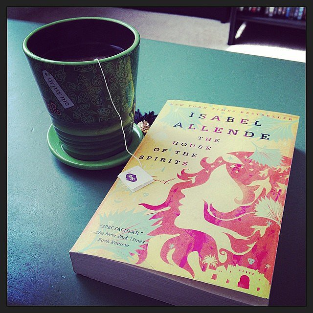"We agree with slryan09: ""Some mornings just require tea and books."""