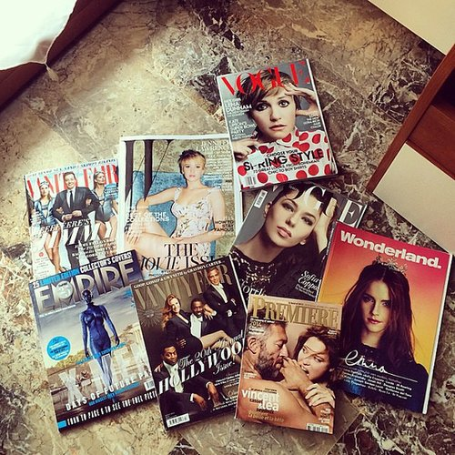 Tiffanysilver23 shared a photo of the mags she's reading.