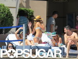 Jessica Alba Kicks Off Bikini Season in Vegas