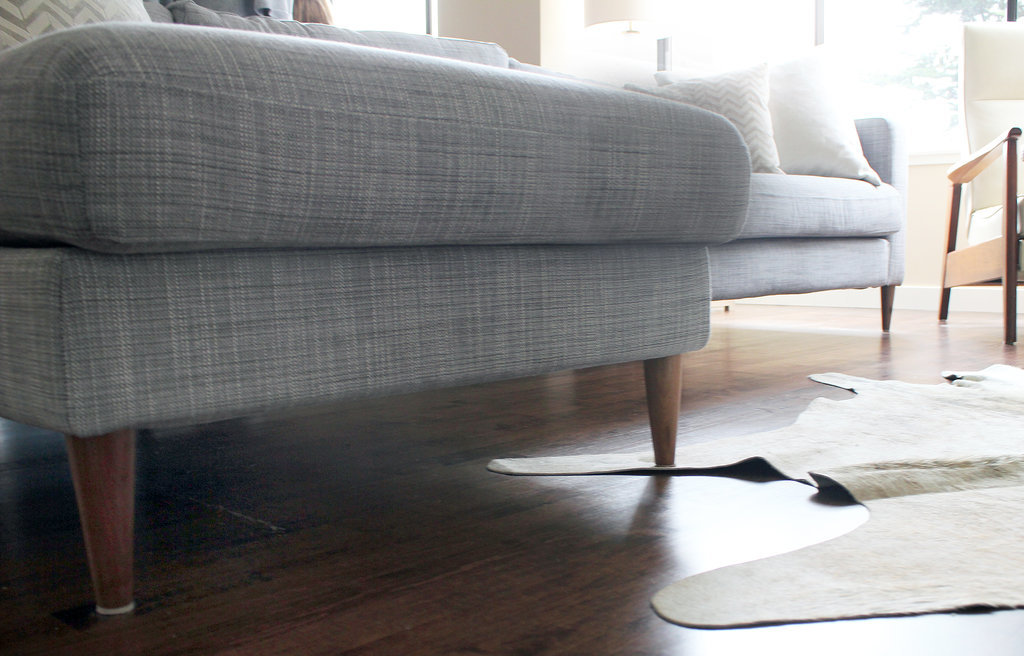 Ikea couch hack popsugar home for Ikea sofa legs interchangeable